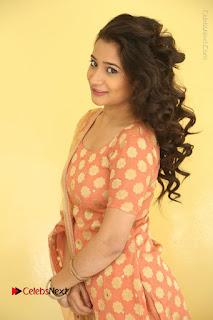 Telugu Actress Santoshi Sharma Latest Stills in Salwar Kameez at HBD Movie Teaser Launch  0052.JPG