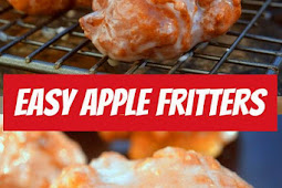 These Easy Apple Fritters will become your new favorite! #easyrecipe #applefritters #appetizers