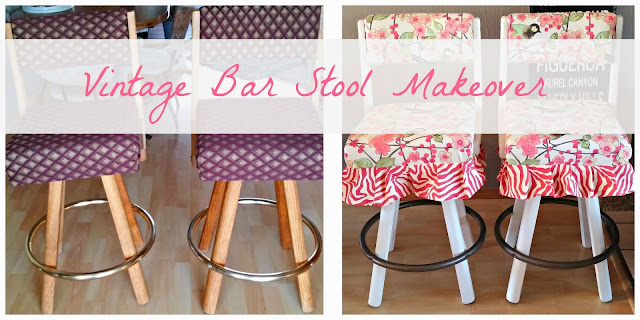 1980's barstool makeovers