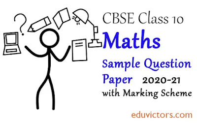Class 10 Maths Standard CBSE Sample Question Paper with Marking Scheme 2020-21 (#cbseclass10MathsPaper)(#cbse2020)(#eduvictors)(#class10Maths)