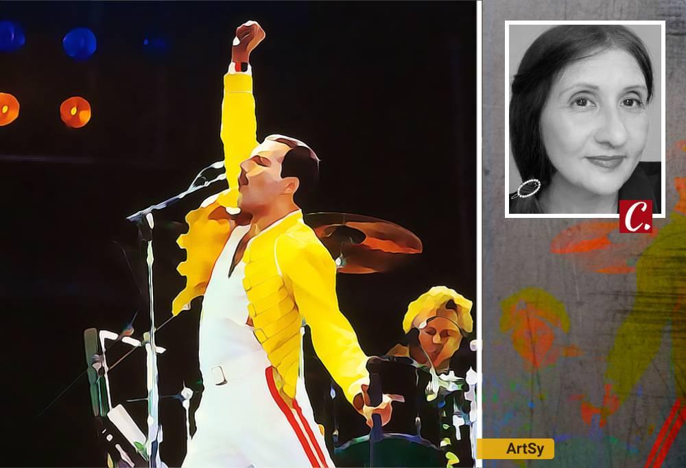 queen freddie mercury brian may rock musica aids