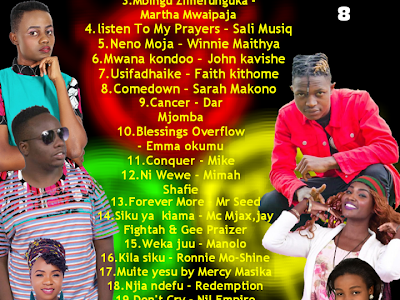 DOWNLOAD MIXTAPE: DJ Sonch – Mzuka Kibao Gospel Mix Vol 8