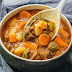 INSTANT POT BEEF STEW WITH POTATOES