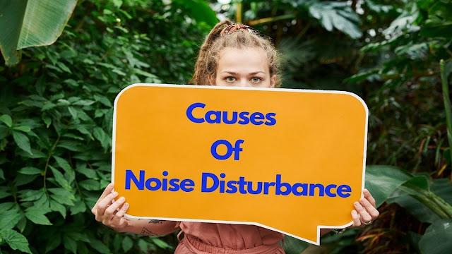 7 Common Causes of Noise Disturbance