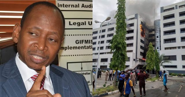 Ahmed Idris's Reports Burns to Ashes in Abuja