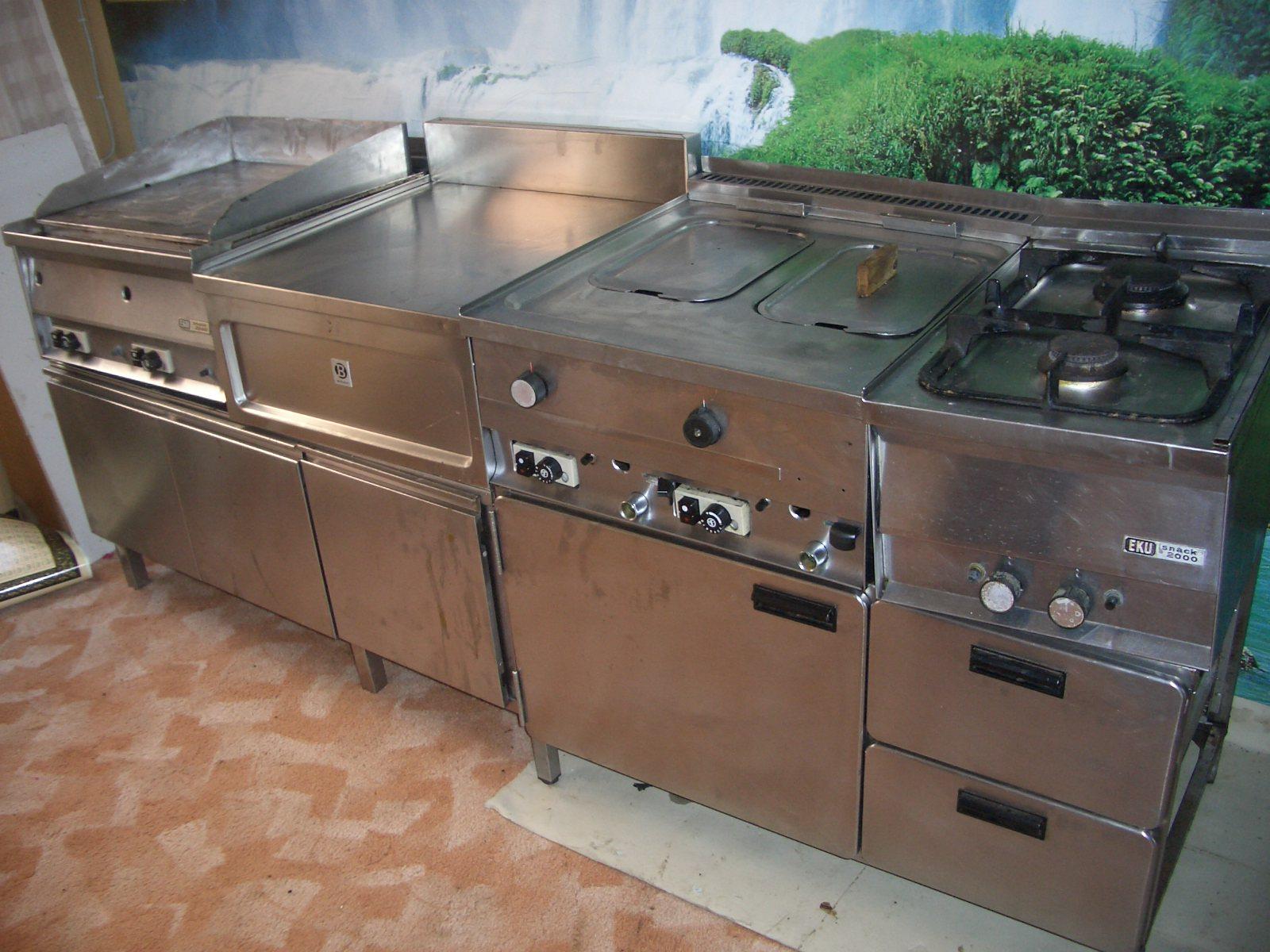 Edelstahl Küchenmöbel Gebraucht