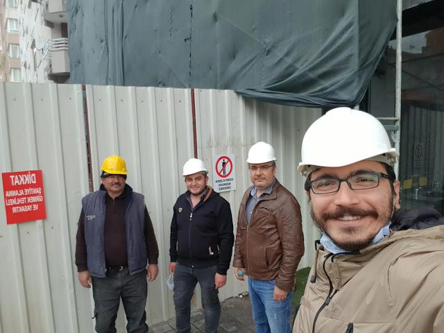 za yapı ekibi, filiz apartmanının yıkımından
