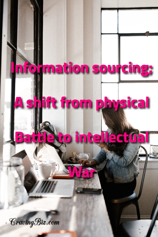 Information Sourcing: A Shift From Physical Battle To Intellectual War
