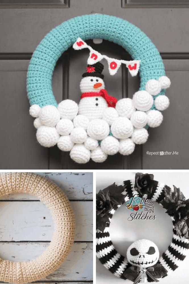 Crochet Wreath Ideas