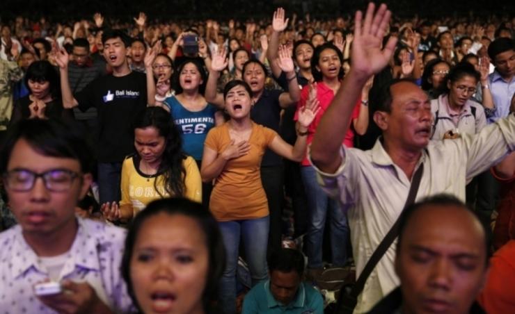 Cristianos en Indonesia