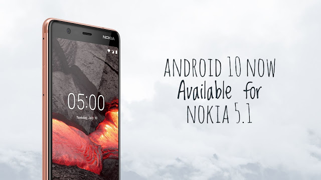 Nokia 5.1 now receiving Android 10 update