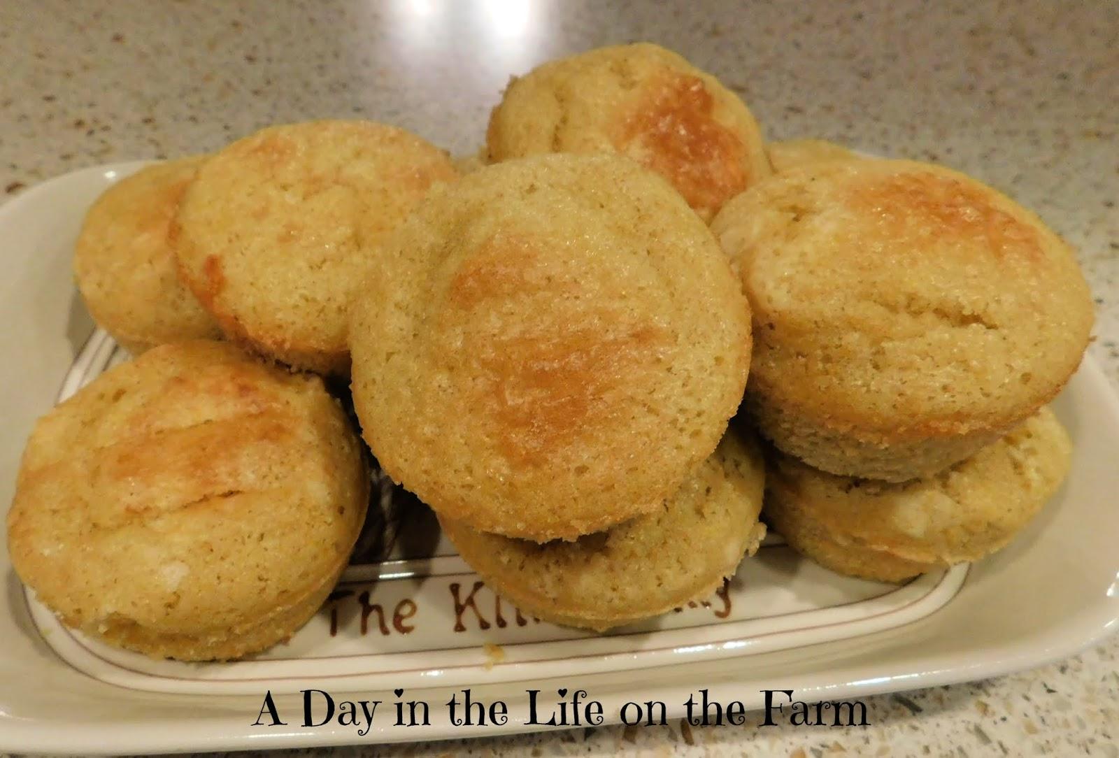 Sourdough Cornbread Muffins