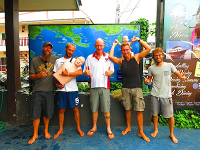 EFR Instructor course on Koh Lanta for April has been completed