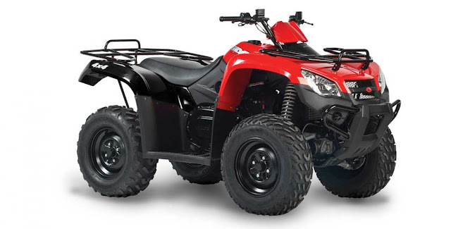 Spesifikasi ATV Kymco MXU 450i