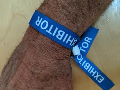 Exhibitor Wristband