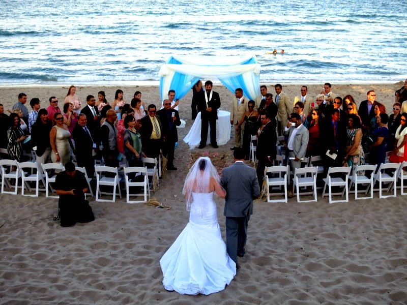 The Beach Was Packed And One Of Our Employees Who Helping With Wedding Says That Ballroom Is Booked For Next Two Years
