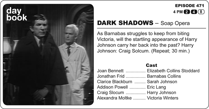 The Collinsport Historical Society: The Dark Shadows Daybook