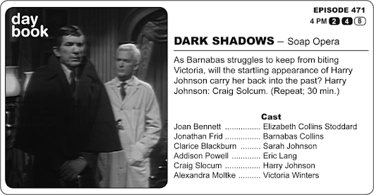 The Dark Shadows Daybook: April 9