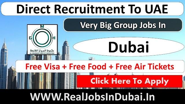 Al Marwan Group Hiring Staff In Dubai UAE 2021