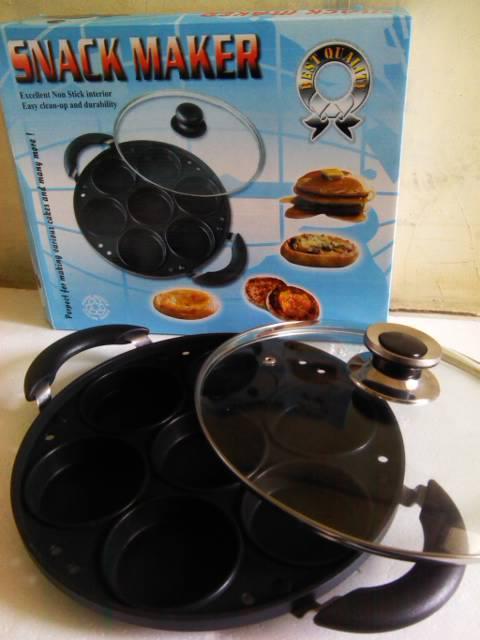 JUAL Loyang Cetakan Kue Snack Maker Teflon Cetakan Kue