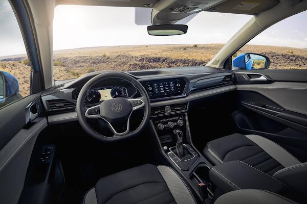 Volkswagen Taos 2022: dados de consumo oficiais divulgados - EUA