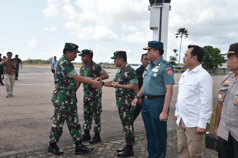 Danlantamal IV Sambut Kedatangan Panglima TNI dan Menteri Purn untuk Tinjau Lokasi Bekas Camp Pengungsi Vietnam