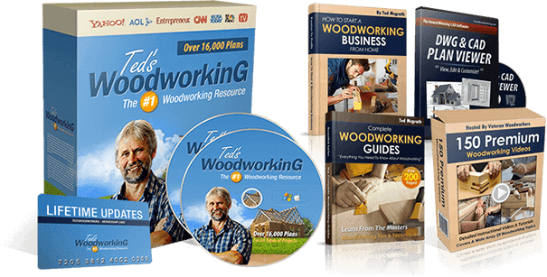 Teds Woodworking Review: 16,000 Woodworking Plans