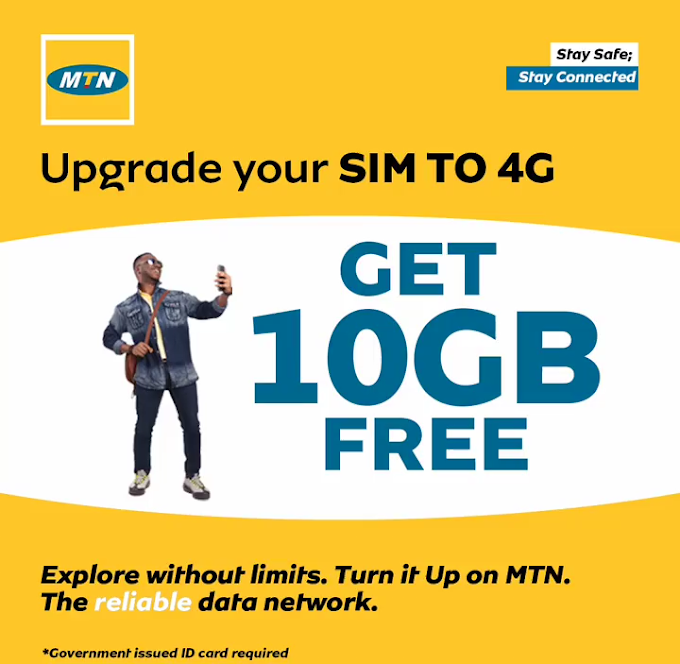 August Latest Free Browsing cheat 2020: How to get 10GB free on all MTN 4G SIM