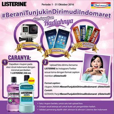 Listerine Berani Tunjukin Dirimu – Indomaret