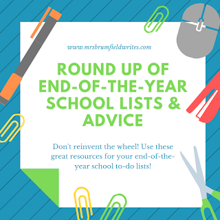 Round Up of End of School Lists