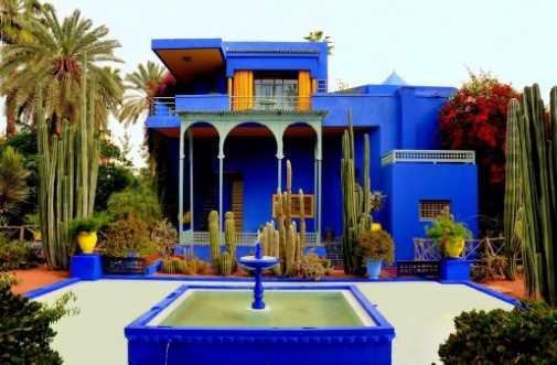 Menikmati Perjalanan ke Surga Maroko Yves Saint Laurent