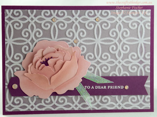 #thecraftythinker #stampinup #cardmaking #minicatalogue #peonydies #plushpoinsettia , Mini Catalogue, Plush Poinsettia, Peony Dies, Stampin' Up Demonstrator, Stephanie Fischer, Sydney NSW