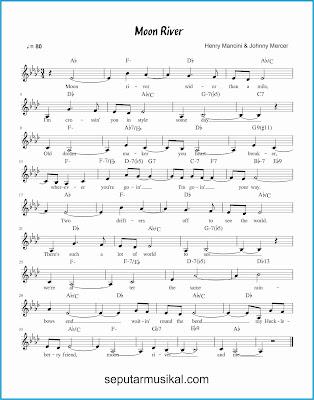 moon river lagu jazz standar