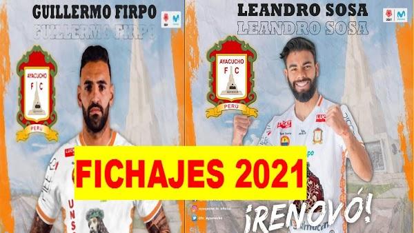 Oficial: Ayacucho FC, firma Firpo