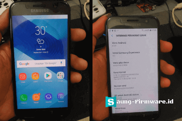 Bypass FRP Samsung A3 A320Y Android 8.0 Tested