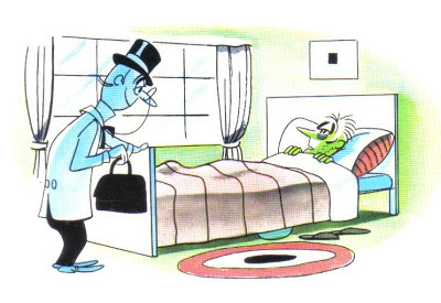 el enfermo y el medico fabula