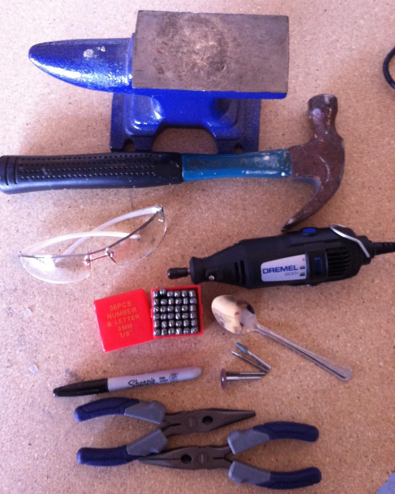 Upcycled Stuff: DIY Spoon Pendant