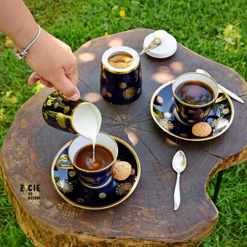 cafe panamera, kawa, panna cota, deser kawowy