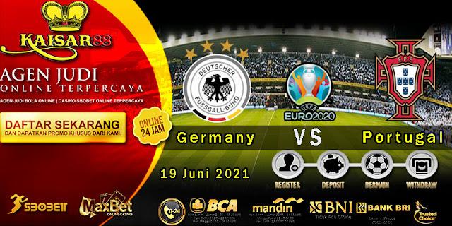 Prediksi Bola Terpercaya Piala EURO Germany vs Portugal 19 Juni 2021