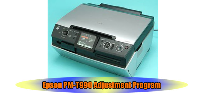 Epson PM-T990 Printer Adjustment Program