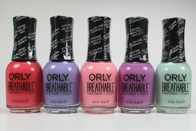 Colores de carol orly breathable for Salon 500 orly