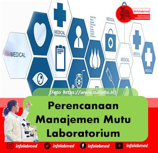 Perencanaan Manajemen Mutu Laboratorium