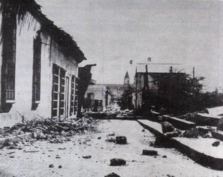 Resultado de imagen para Fotos de la destrucción de Caracas por un terremoto en 1641