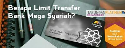 limit transfer mega syariah