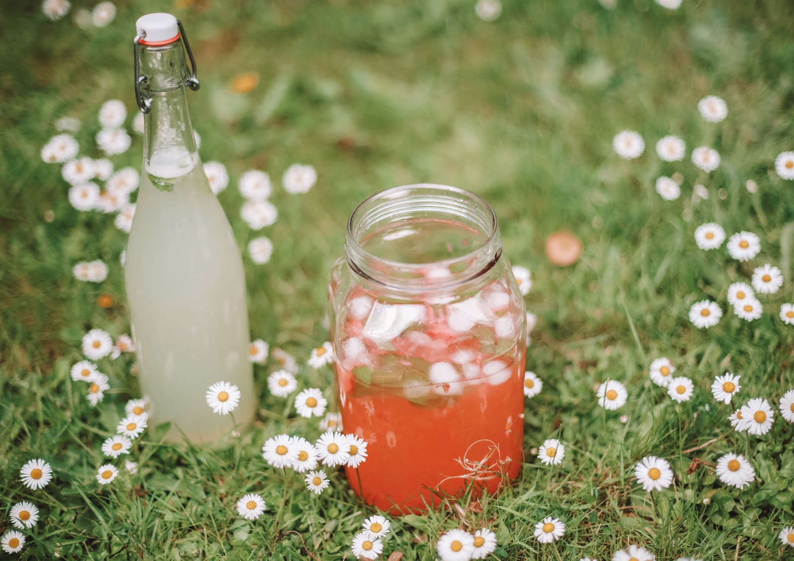 Rêveuse Recipe: Summer Strawberry Pink Lemonade and Mint Lemonade