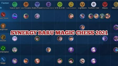 Update Terbaru Synergy Magic Chess 2021