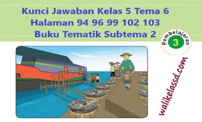 Kunci-Jawaban-Kelas-5-Tema-6-Halaman-94-96-99-102-103-Buku-Tematik