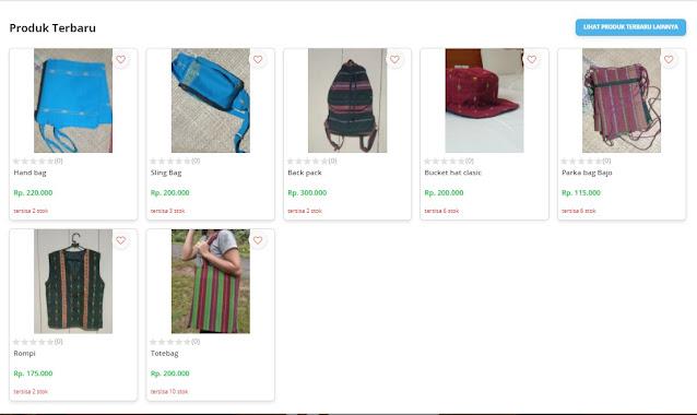 handbag dan topi NTT
