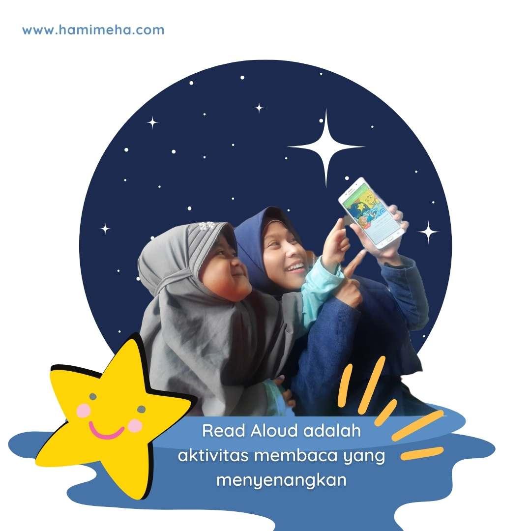 Read aloud aktivitas menyenangkan