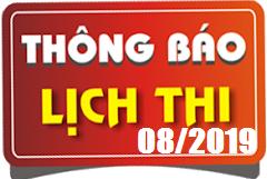 Lịch thi sát hạch lái xe ô tô B1, B2, C, D, E tháng 08/2019 tại Hà Nội